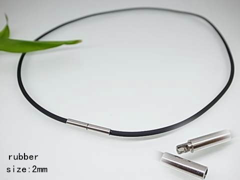 NZ 5035 - Collar caucho y acero 2 mm